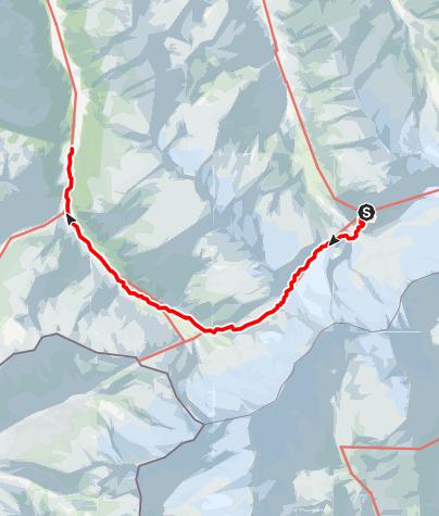 Karte / 02 Zentralalpenweg West, E14: Kürsinger Hütte - Krimmler Tauernhaus