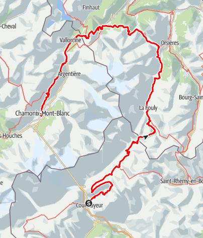 Karte / UTMB CCC 2021