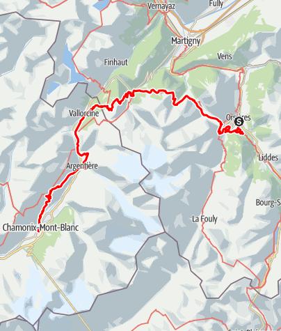 Karte / UTMB OCC 2021