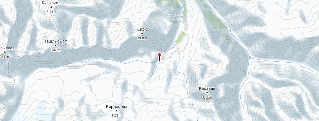 Karte / Elbrus Besteigung Juli 2022  (Höchster Berg Europas, Einer der SEVEN Summits)