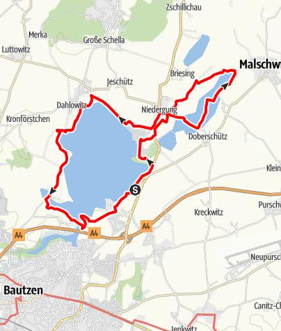 Karte / Gemeinschaftstour am 19.09.2021