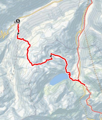 Karte / Realp - Gatscholalücke - Gotthardpass