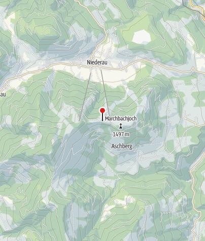 Karte / Markbachjochhütte
