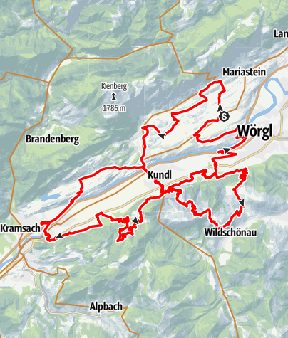 Karte / eldoRADo MTB Marathon 2021 Langstrecke
