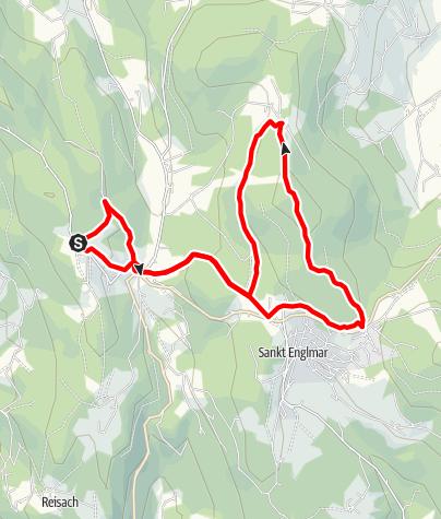 Karte / Pröllerrunde von Maibrunn