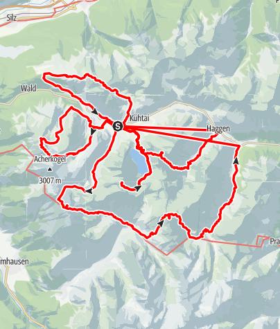 Karte / Kühtai