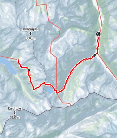 Karte / 02 Zentralalpenweg West, E15: Krimmler Tauernhaus - Plauener Hütte