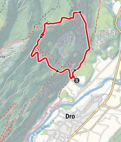 Map / Diedro Martini, Cima alle Coste, Dolomiten (Sarcatal)