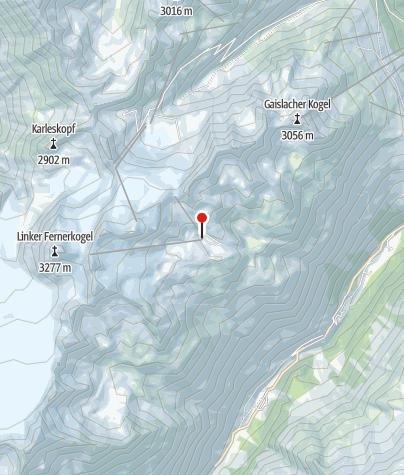 Karte / Tiefenbach Gletscher Restaurant