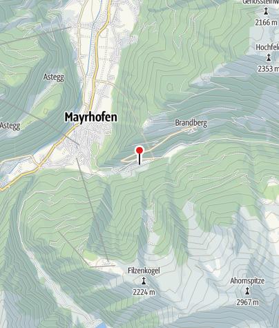 Karte / GH Zillergrund