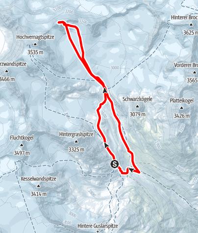 Map / Hochvernagtwand