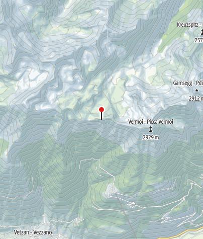 Karte / Niederjöchlkreuz