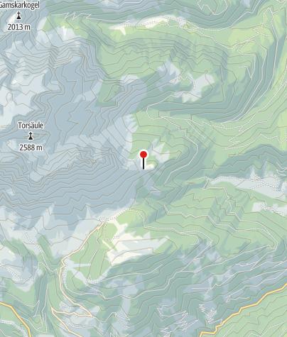 Karte / Mitterfeldalm (1.669 m)