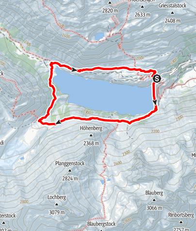 Karte / Seerundgang Göscheneralp