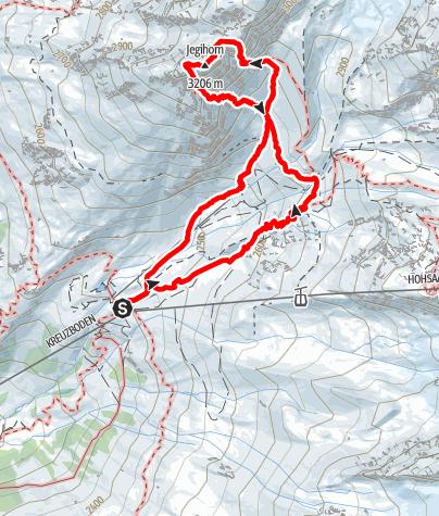 Karte / Jegihorn