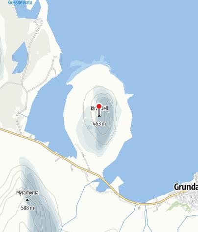 Karte / Kirkjufell
