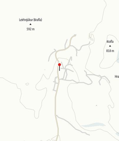 Karte / Geothermiekraftwerk Krafla