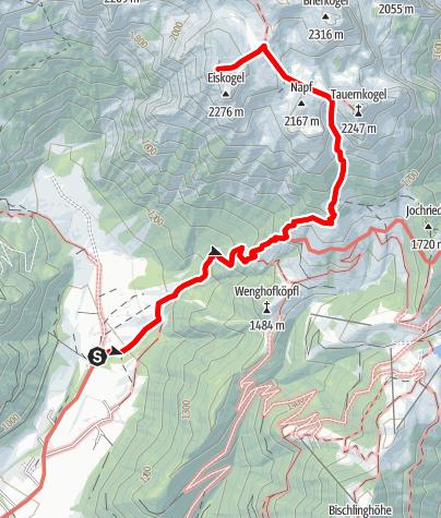Map / Eiskogel