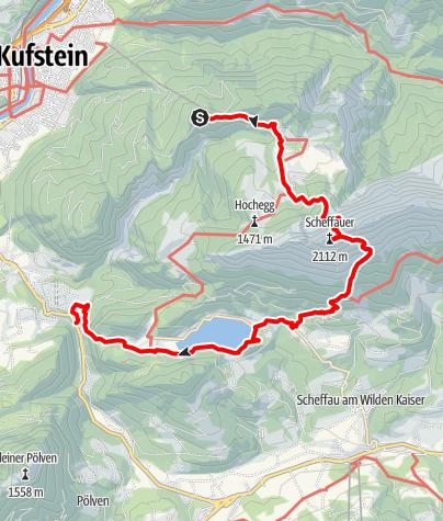 Map / Kaisertour 4. Tag