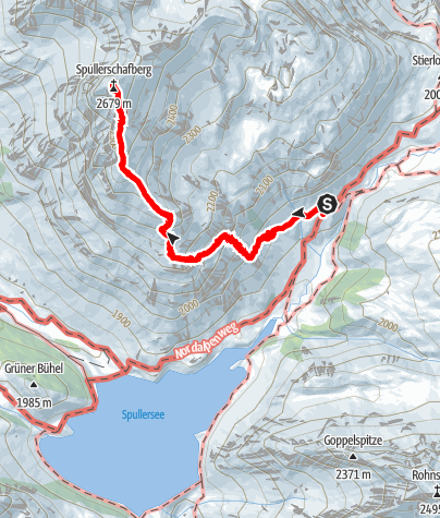 Karte / Spuller Schafsberg