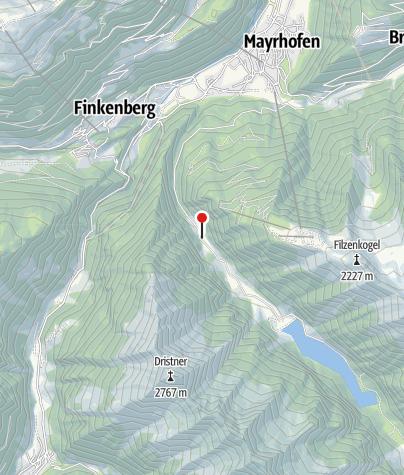 Karte / Alpenhaus Lacknerbrunn