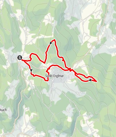 Karte / Predigtstuhl und Pröller von Grün