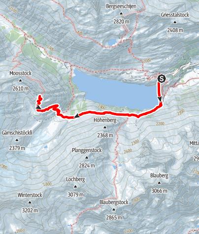 Karte / Dammahütte SAC