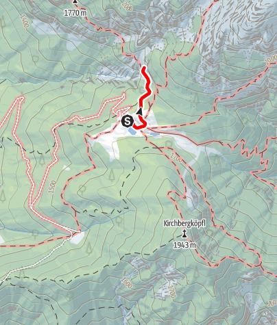 Karte / Klettergarten nahe Neue Magdeburger Hütte