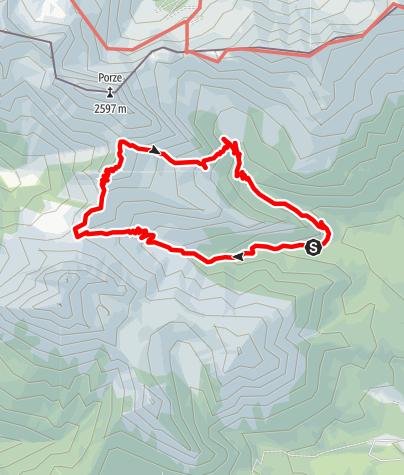 Karte / CRESTA DEL PALOMBINO - Val Visdende