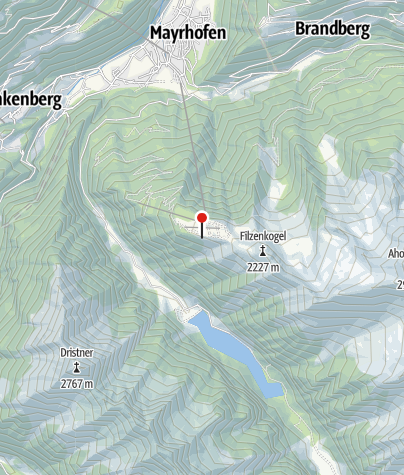 Karte / Filzenalm