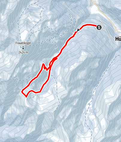 Karte / Großarltal: Finsterkopf (2.152 m)