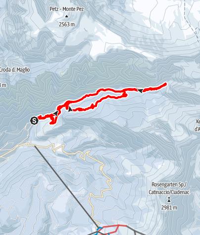 Karte / Tschamintal ins Bärenloch