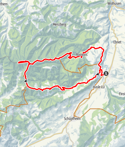 Karte / Napf IV