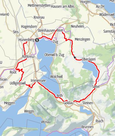 Karte / Michaelskreuz - Steinerberg