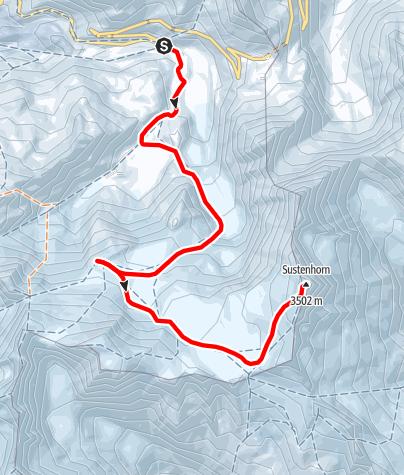 Karte / Sustenhorn