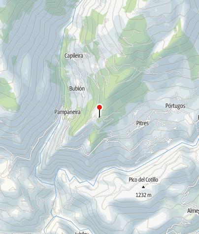 Karte / Barranco de la Sangre
