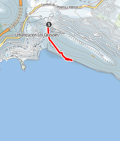 Karte / Magical Mystery Tour, Sierra de Toix (Costa Blanca)