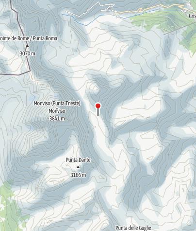 Karte / Rifugio (Berghütte) Quintino Sella