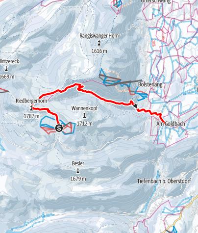 Karte / 2017-12-20 Riedberghorn Bolgental