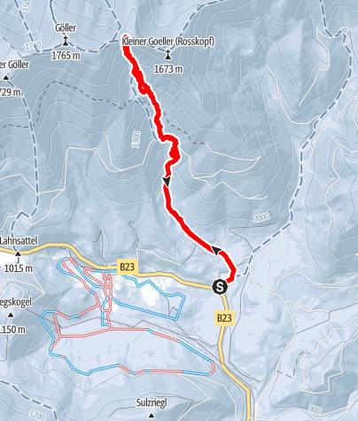 Karte / Göller Karlgrube direkt