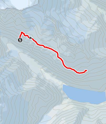 Karte / 5-Hütten-Panoramaweg: Etappe 3 Chelenalphütte SAC zur Bergseehütte SAC