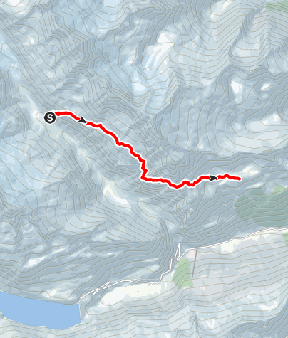 Karte / 5-Hütten-Panoramaweg: Etappe 5 Voralphütte SAC zur Salbithütte SAC