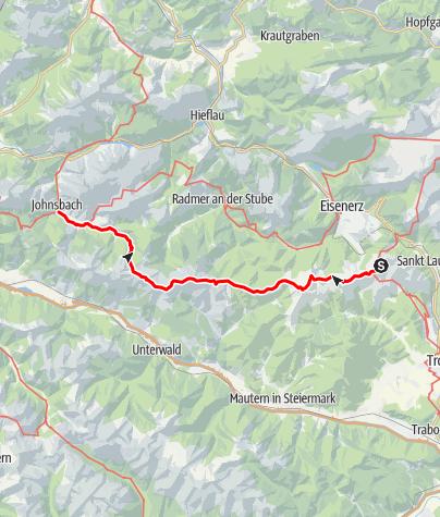 Map / Dürrenstein, Hochschwab und Gesäuse - E.5 Reichensteinhütte-Johnsbach