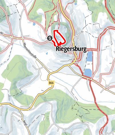 Karte / Klettersteige (C) auf der Riegersburg