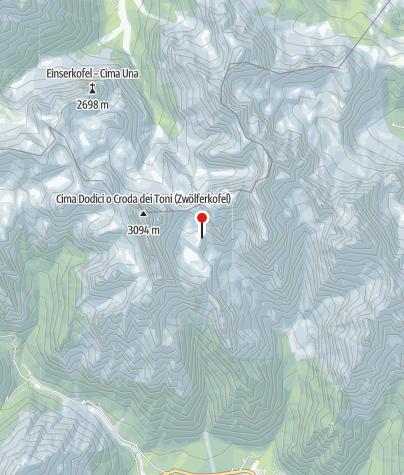 Map / Rifugio Carducci