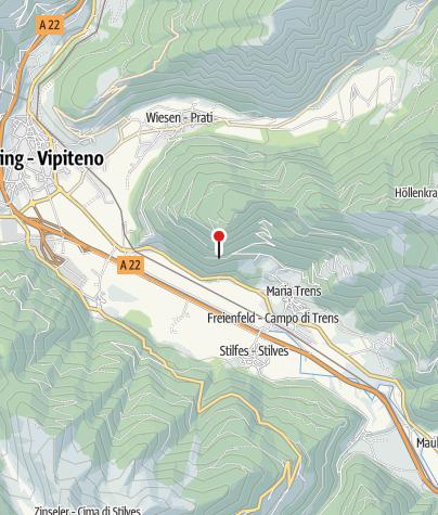 Karte / Trenser Höhenweg (Weg Nr. 24)