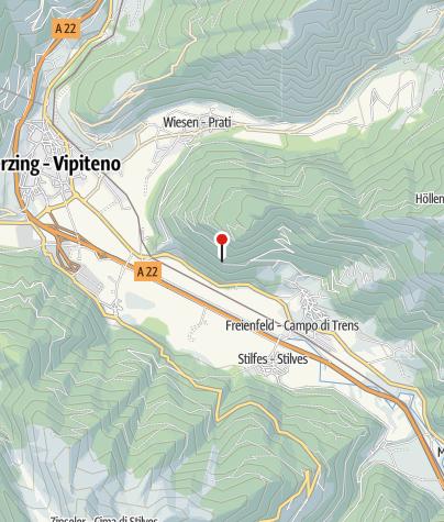 Karte / Abzweigung 24B Richtung Sprechenstein