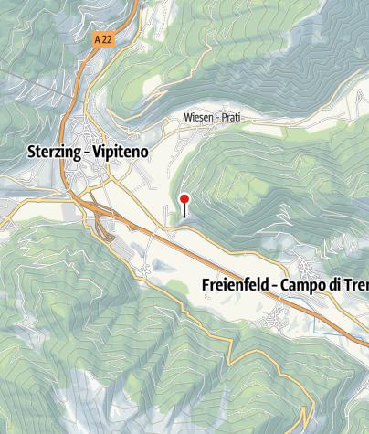 Karte / Burg Sprechenstein