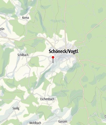 Karte / Ferienwohnung Familie Gerbeth