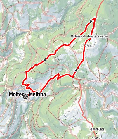 Karte / Möltner Joch 1.733 m